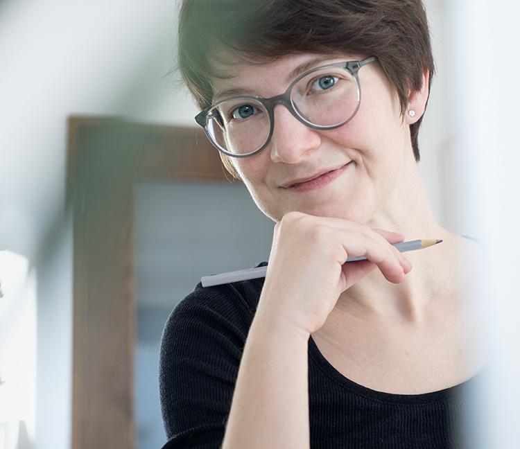 Porträt von Antje Nücklich – Grafikerin, Designerin, Fotografin