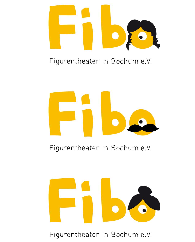 Gestaltung von Logo und Spielplan für ein Puppentheater // Logo
