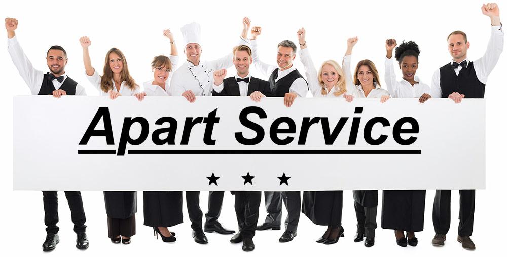 Bewerben Sie sich bei Apart Service in Ettenheim als Service Fachkraft für die Gastronomie