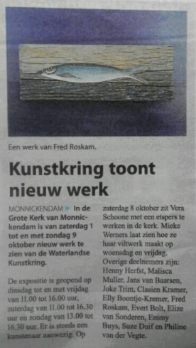 Gezinsblad 28 september 2016