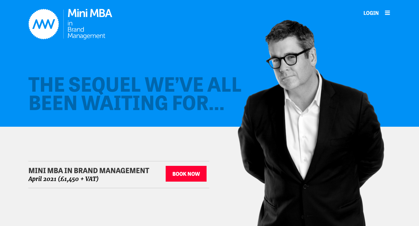 Mini MBA in Brand Management with Mark Ritson
