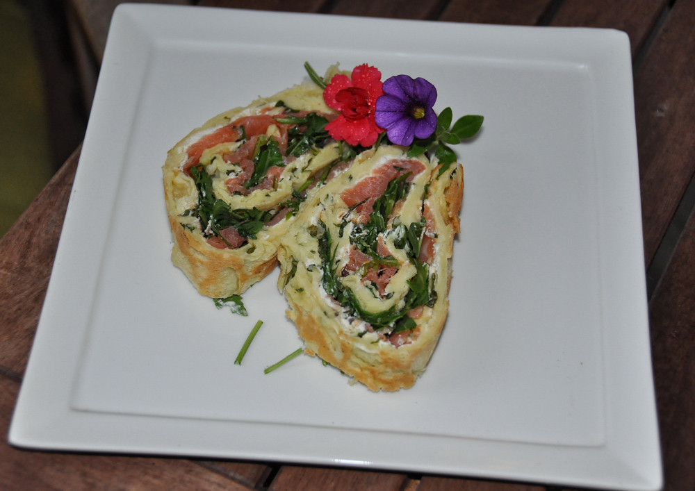 Rucola - Lachs - Rolle