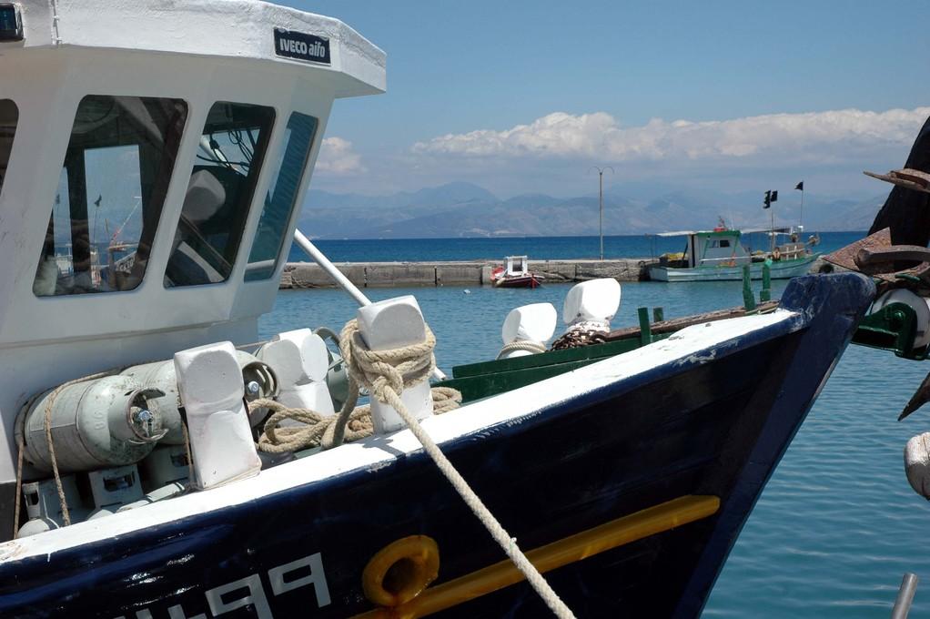 im Hafen von Boukari, im Süden.