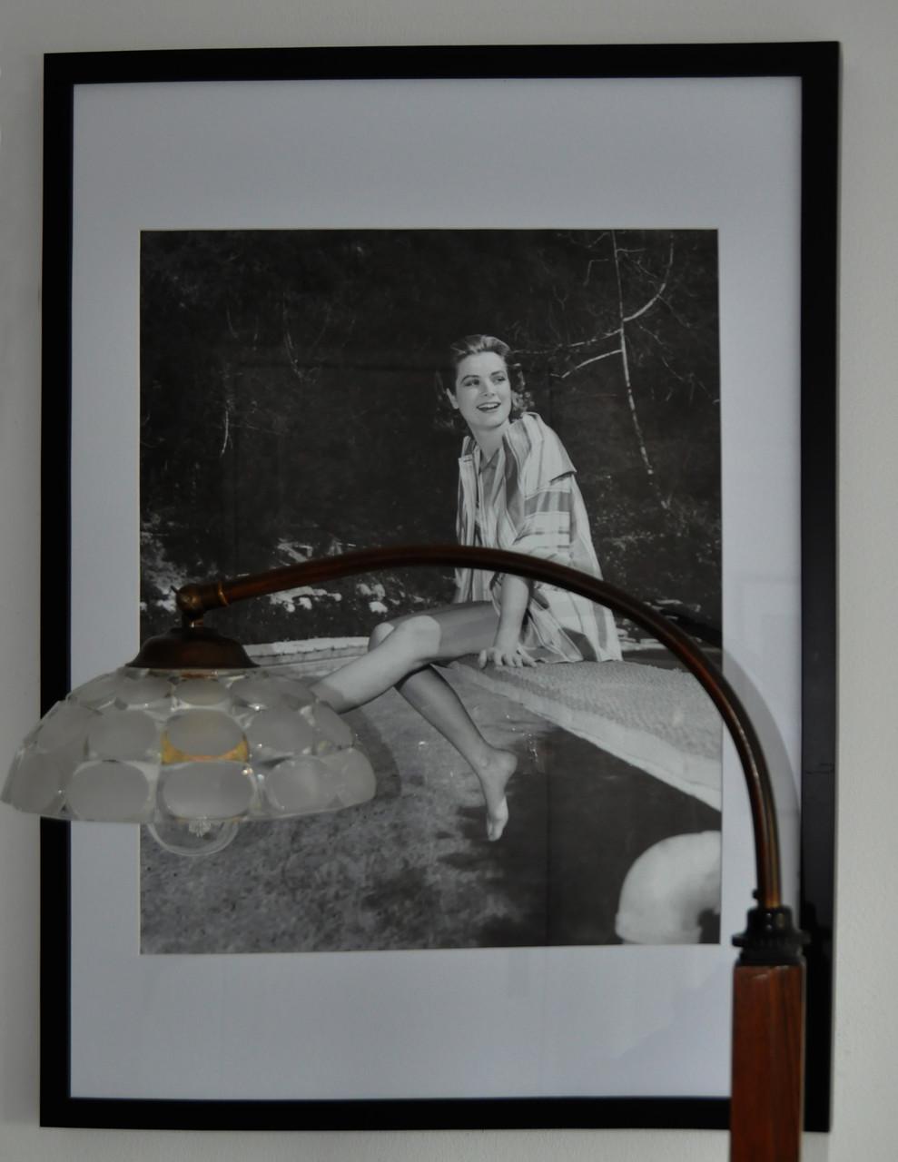 Grace Kelly über meinem Nachtisch, sie strahlte mich an..:-)