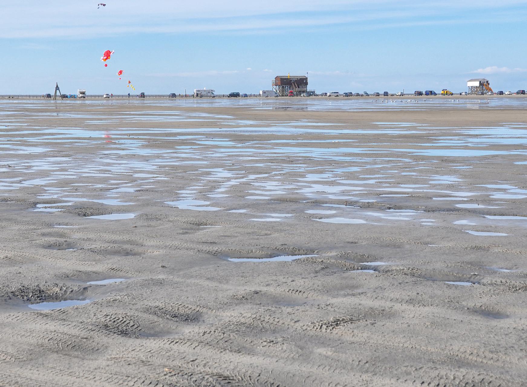 Woher weiß denn eigentlich die Flut, dass sie am Strandbeginn nicht weiter steigen darf ?