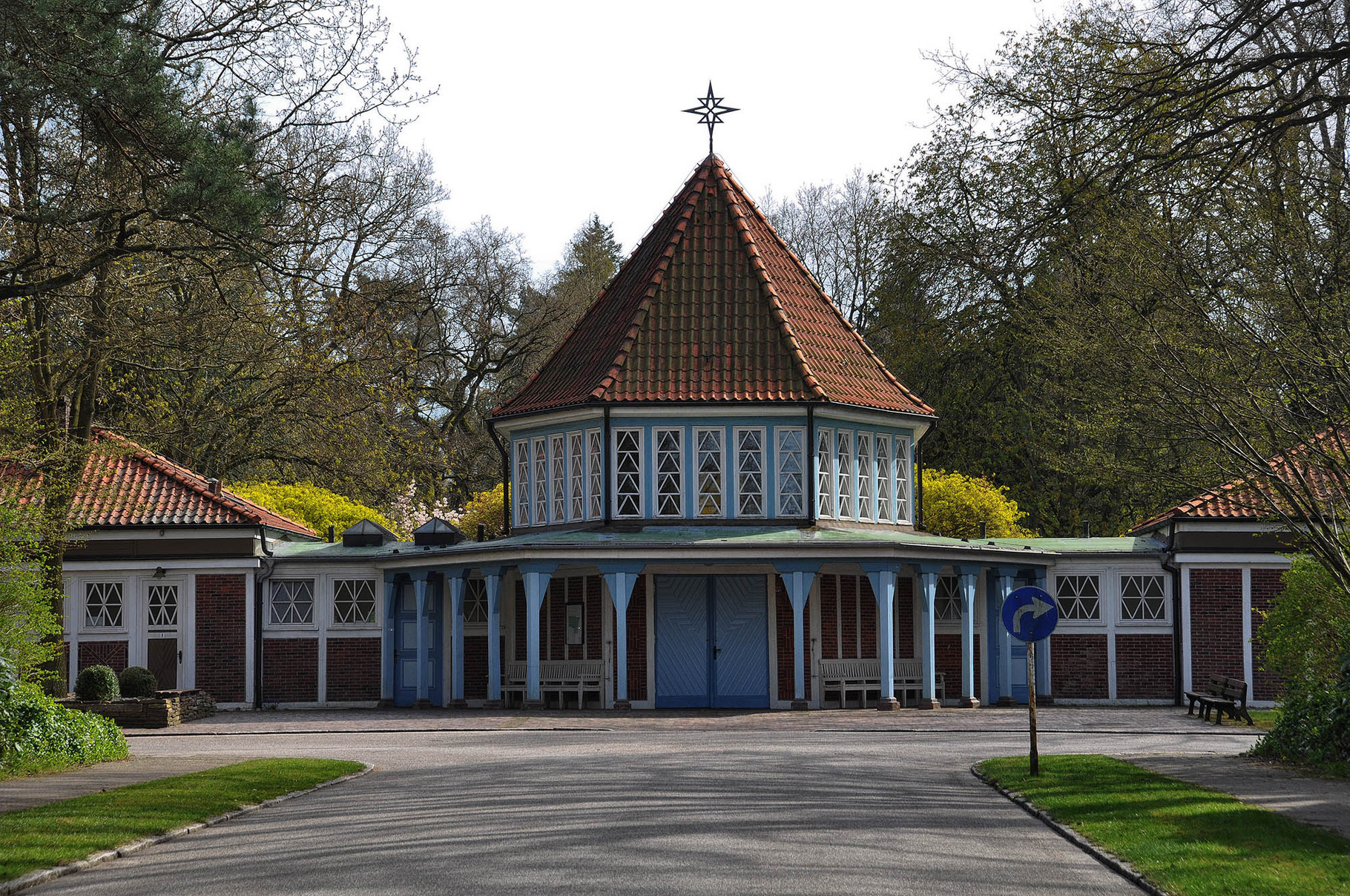 Friedhof Ohlsdorf, der größte Parkfriedhof der Welt, Kapelle 10