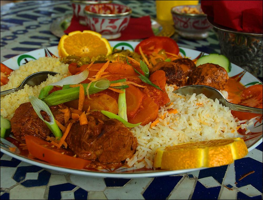 Essen im Le Marrakech, FALAFEL..., soooo lecker !