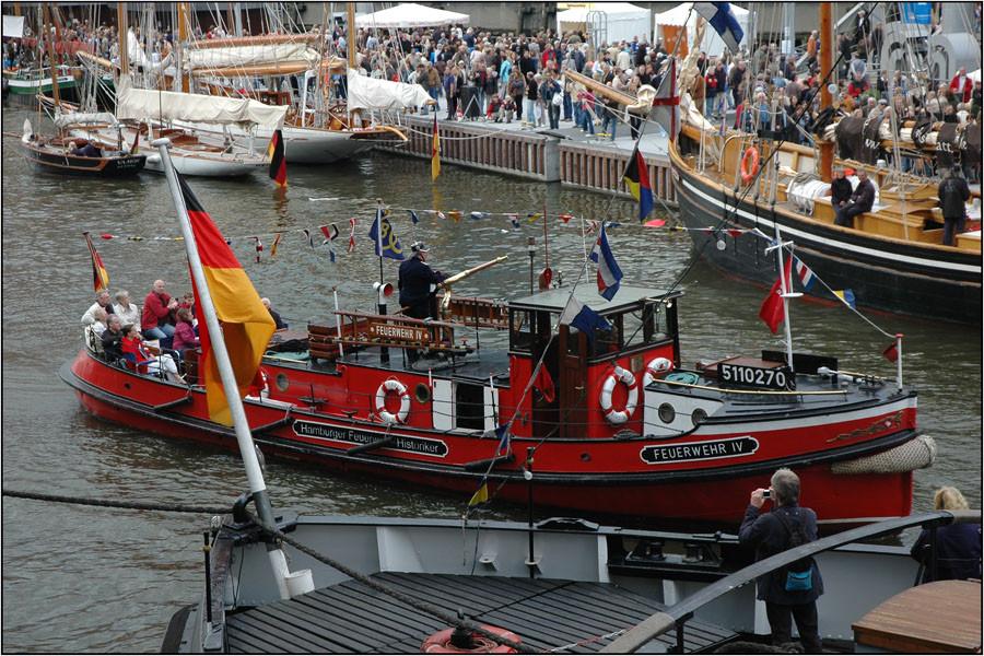 Eröffnung Traditionsschiffhafen