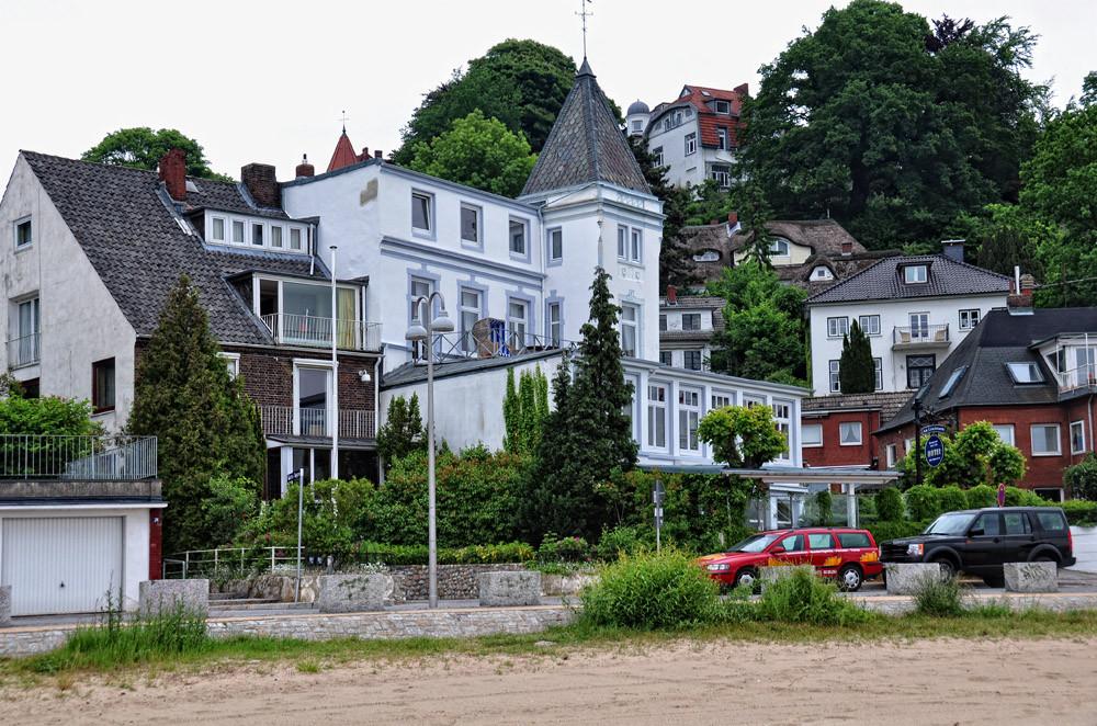 Blankenese, am Strandweg, der Süllberg
