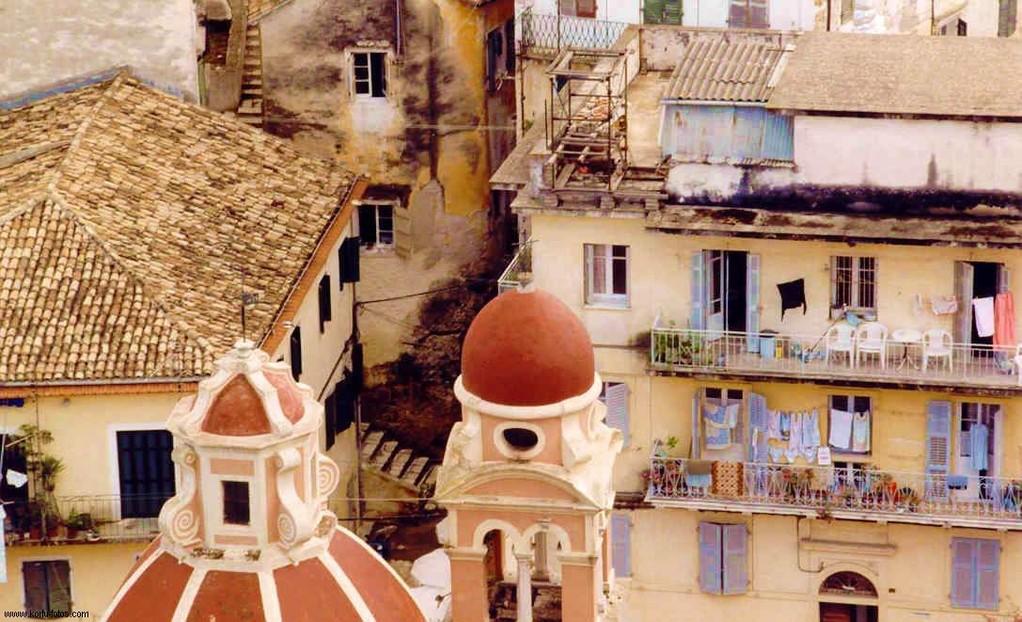 ANALOG,...Blick auf die Altstadt von der alten Festung
