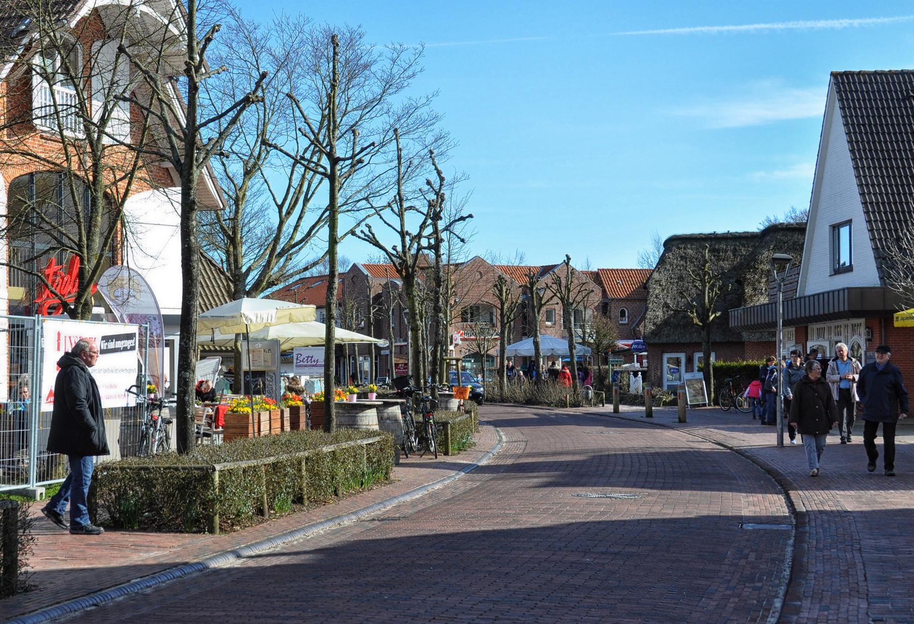 St.Peter Ording Dorf, meine Lieblingsecke, die DORFSTRASSE