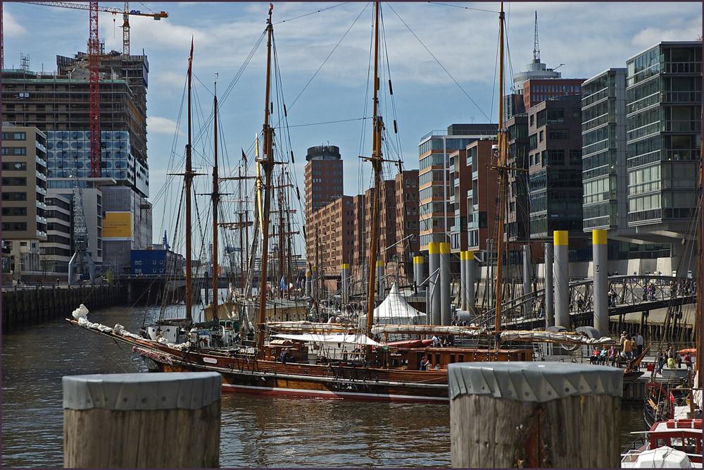 Traditionsschiffhafen, an den Magellan - Terrassen