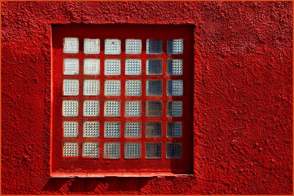 Auch vergitterte Fenster können toll aussehen