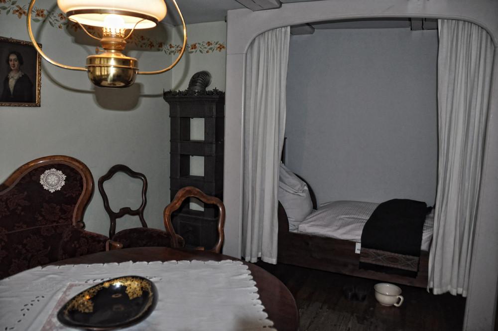 alte Krameramtswohnung, das Wohnzimmer