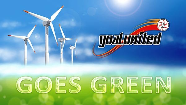 goaluntied goes green!