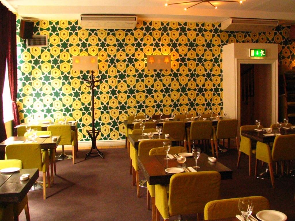 Odessa, lounge and restaurant. Dublin. Ireland.