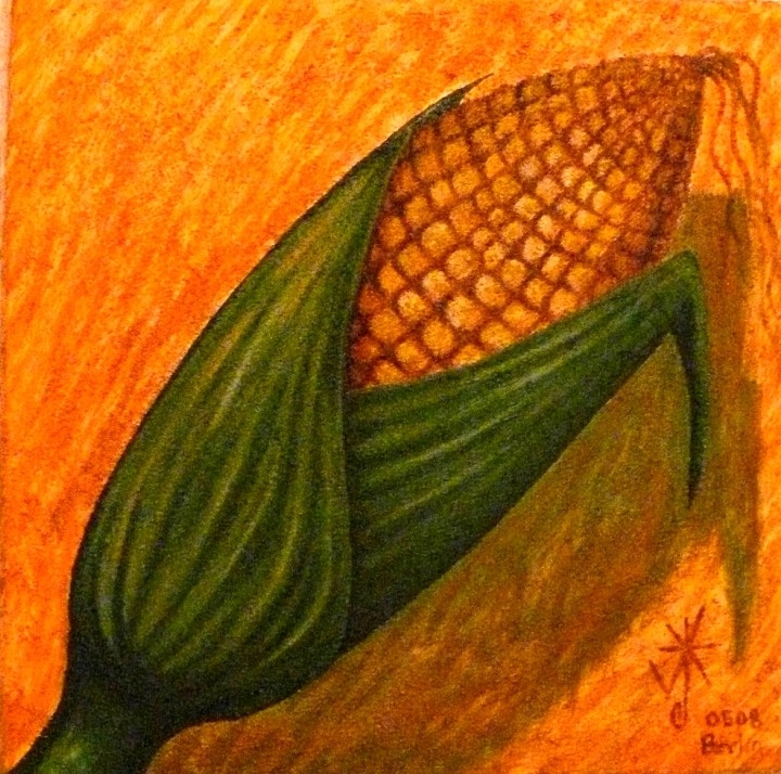 ELOTE. 2008. Acrylic on canvas.Berlin SOLD