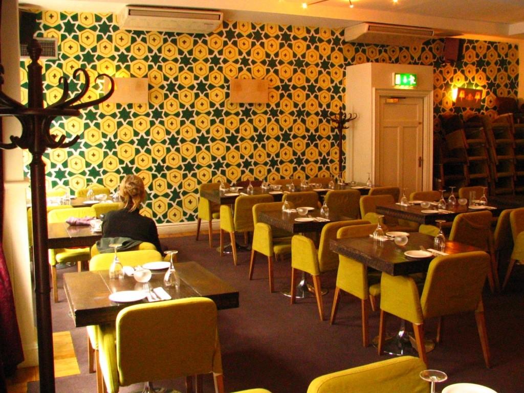 Odessa, lounge and Restaurant. Dubli. Ireland.