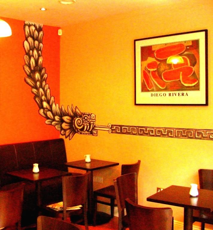 Cafe Azteka. Dublin Irlanda.