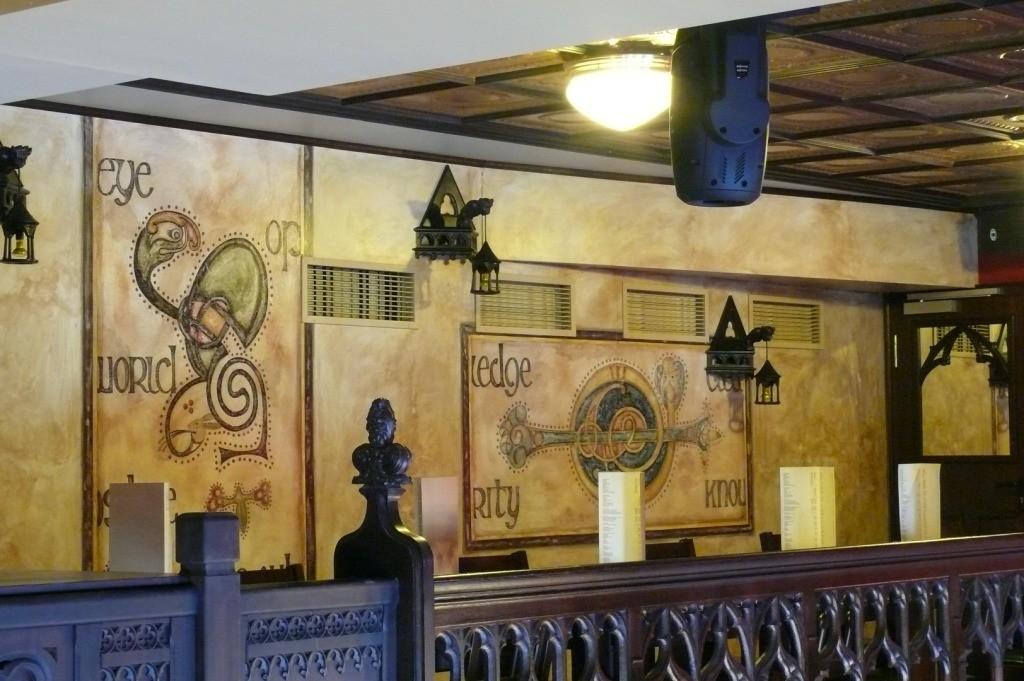 Mezzanine at Waxy´s. Frankfurt. Germany.