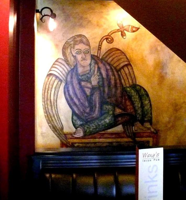 Angel of Kells. Waxys. Frankfurt. Germany.