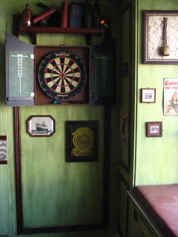 Darts Section. Celtic Room Detail. Dusseldorf. Germany