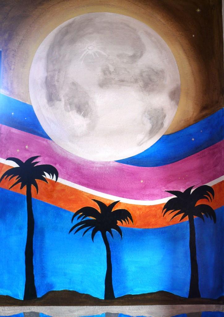 Full Moon. Detalle. Maracaibo restaurante.Edo de Mexico. 2012