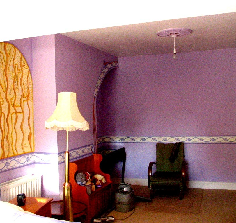 Cenefa, seleccion de colores, murales. 2007