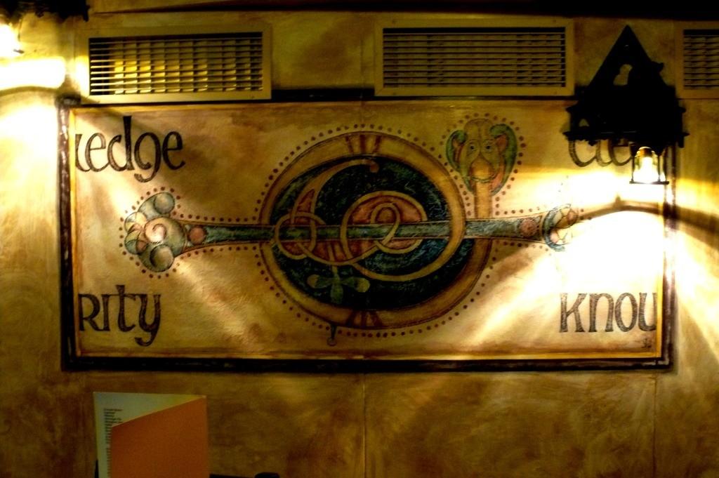 Celtic design. Acrilyc.
