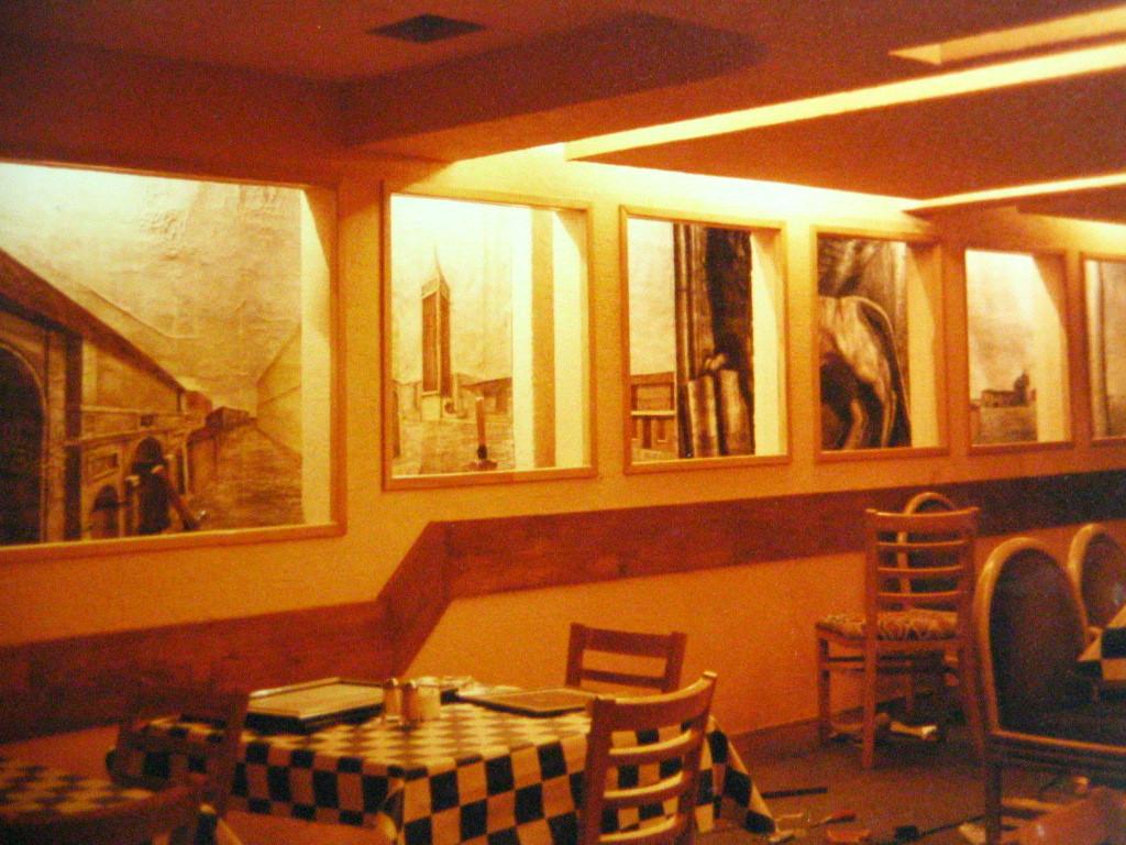 Italian Restaurant. Mexico City. Colaboration. 1997
