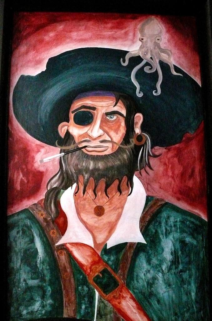 Pirata tuerto. Maracaibo. Edo de Mexico. 2012