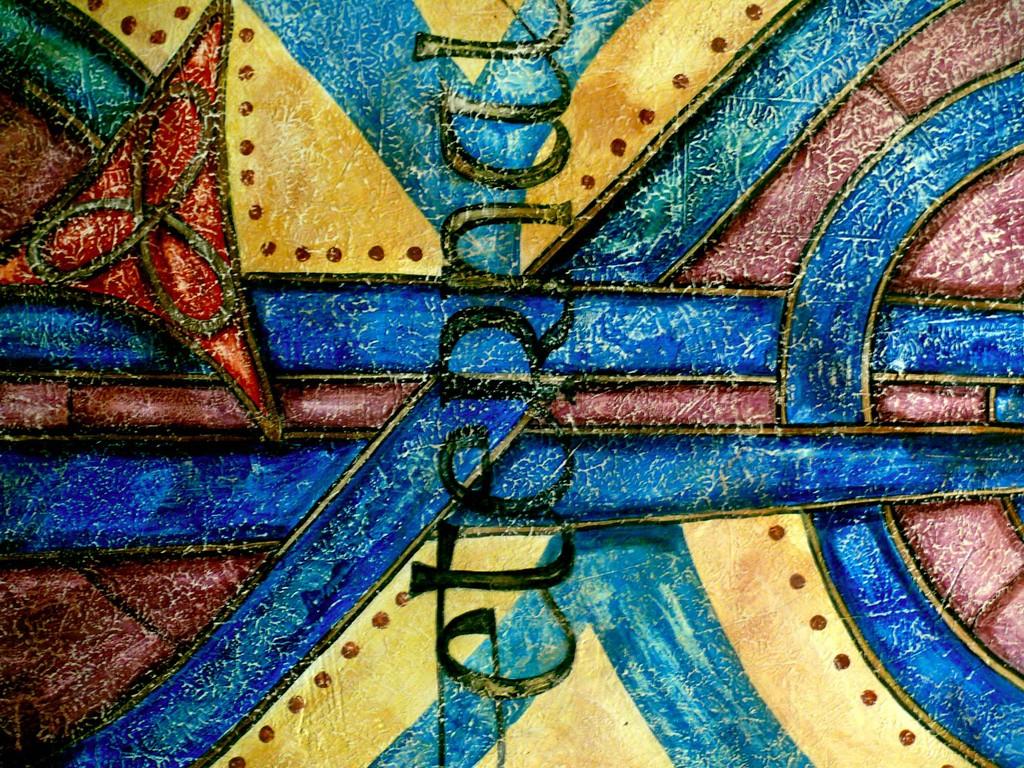 Eterno. Detalle mural en Waxy´s Frankfurt. Alemania 2008