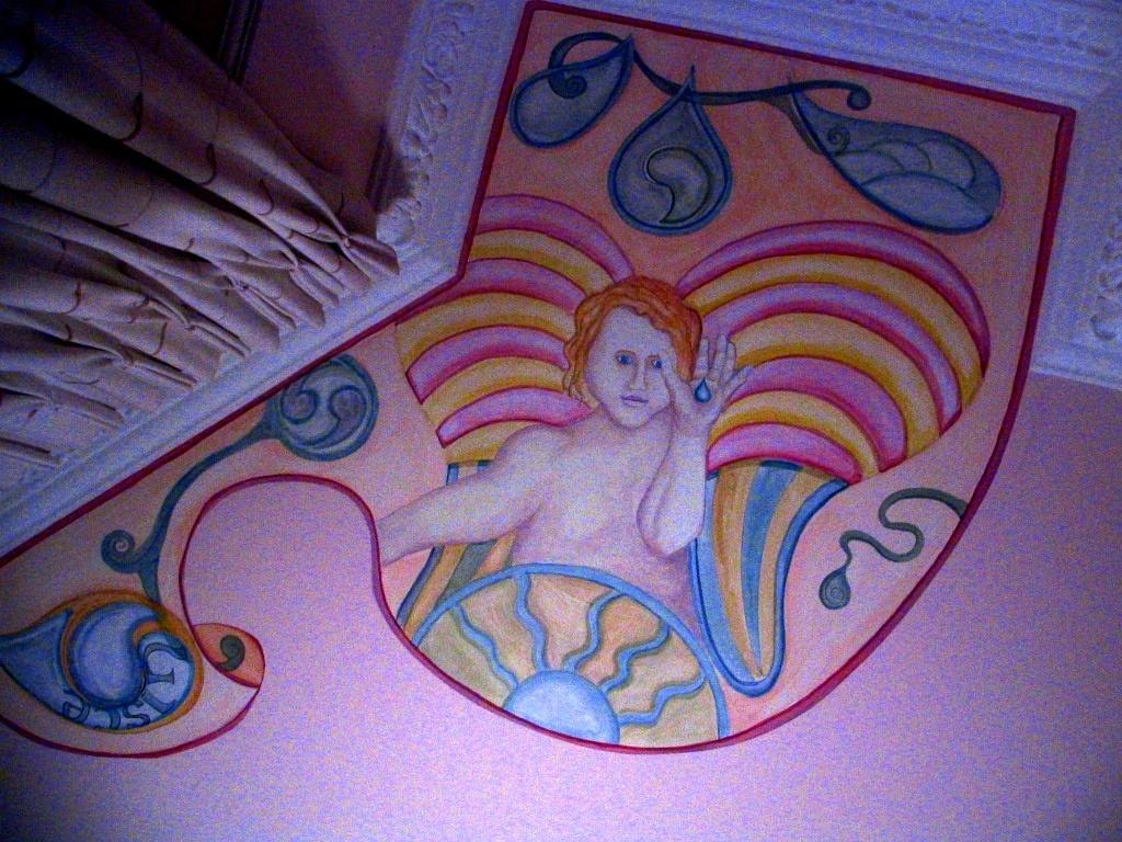 Noemar house, Los cuatro elementos querubines. Dublin. 2007