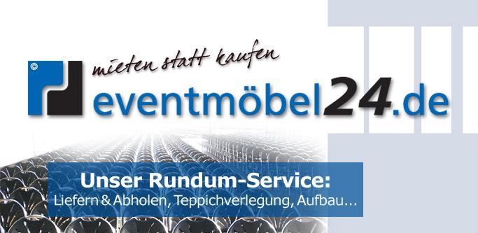 Fotocollage: Unser Event-Service für Veranstaltungen – eventmoebel24.de