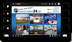 Grafik: Preview Videoscreen - Media Area von eventmöbel24.de | Mietmöbel & Eventausstattungen