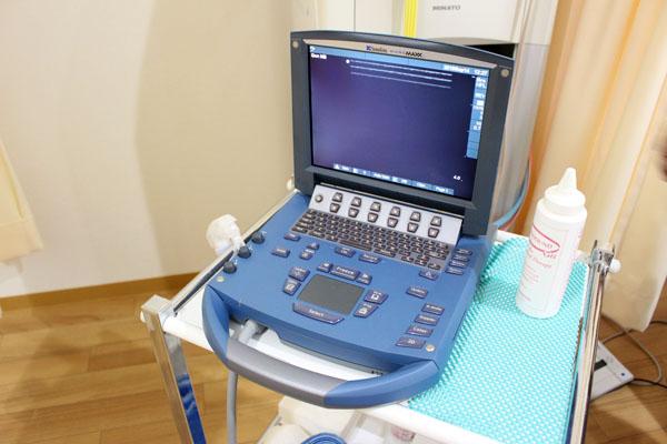 しおかぜ整骨院の超音波観察装置