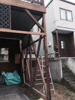 札幌カーポート修理