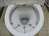 洗い落し便器