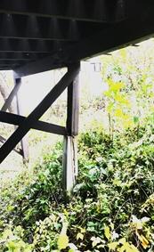 ウッドデッキ、修理は札幌手稲建築工房エンドウ。