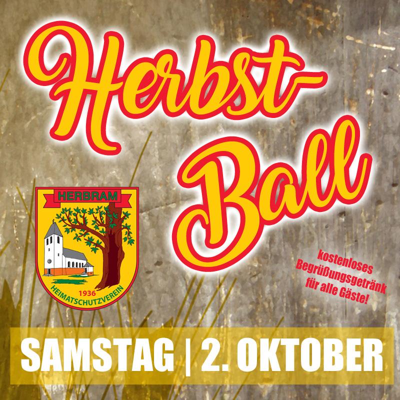 Herbstball am 2. Oktober
