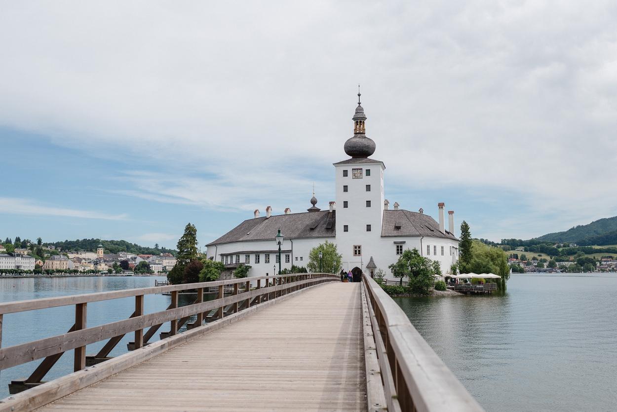 Standesamtliche Trauung Schloss Ort Gmunden Hochzeitsfotos Und