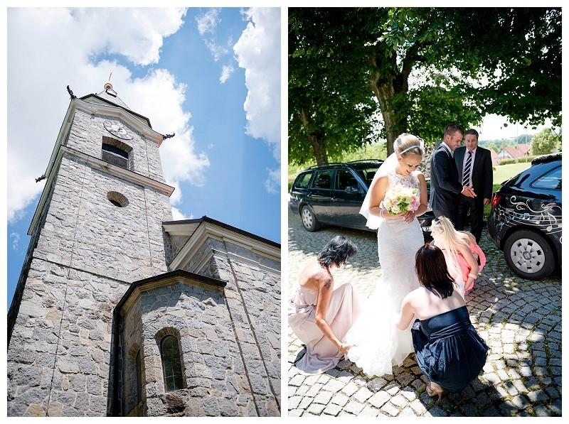 Hochzeitsfoto Kirche Eggendorf