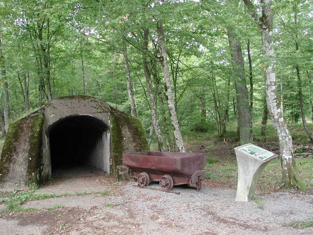 Tunnel de munitions du Canon de Duzey