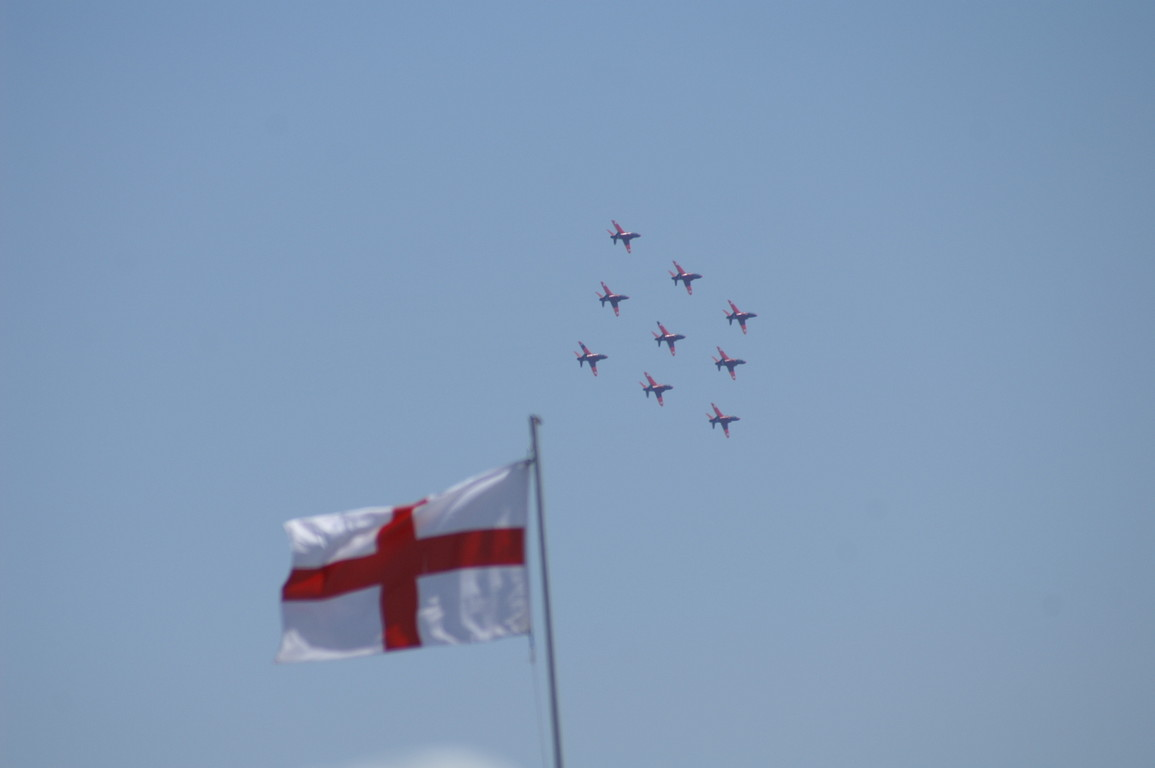 The Red Arrows at the Mudeford Lifeboat Fund Day 2008