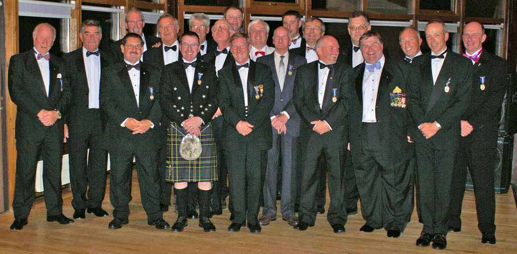 70th Aniversary dinner at Barton golf club 07