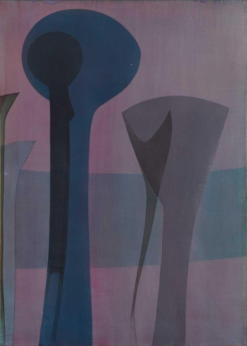 72 x 103 cm, huile sur panneau, 1976