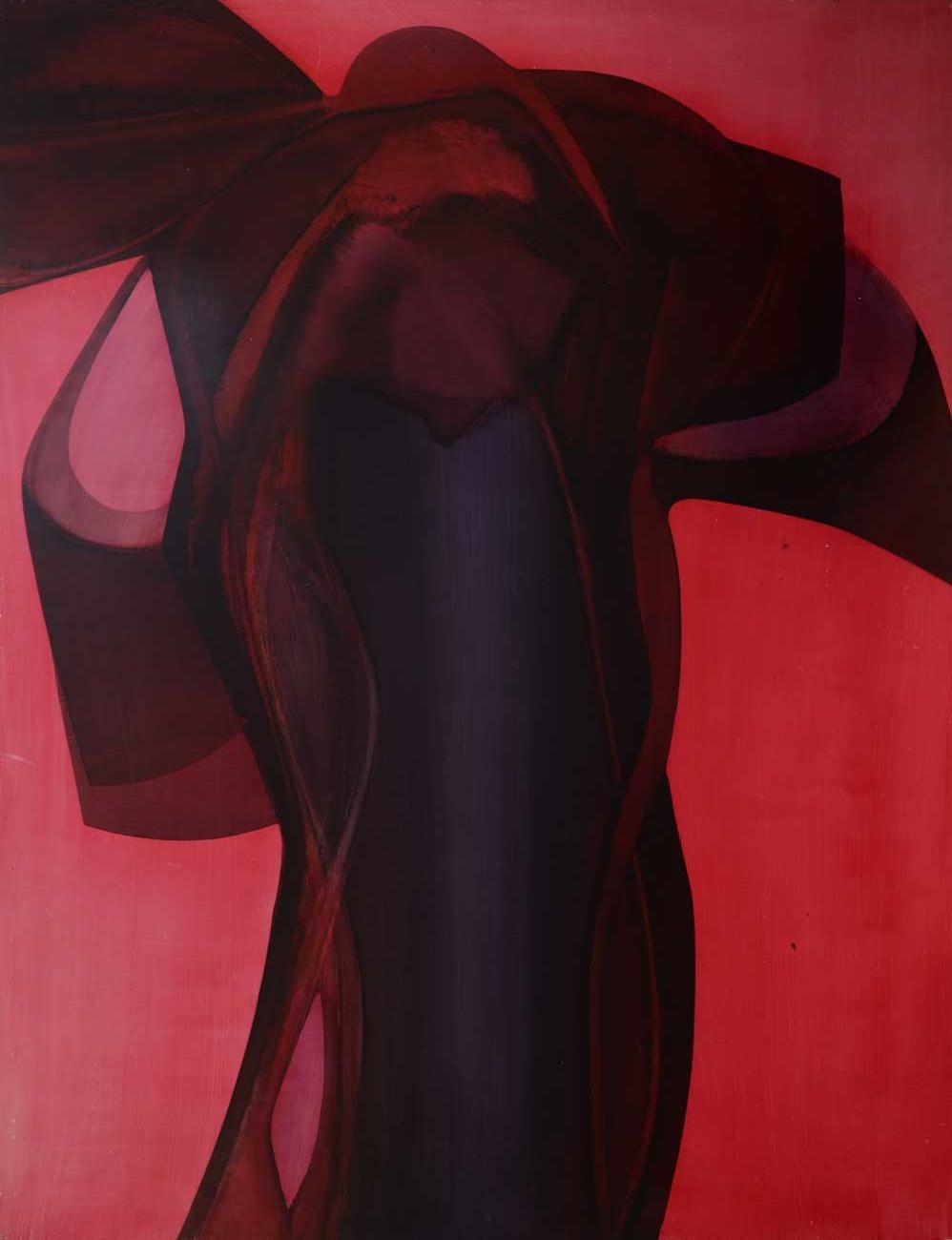 102 x 130 cm, huile sur panneau, 1976