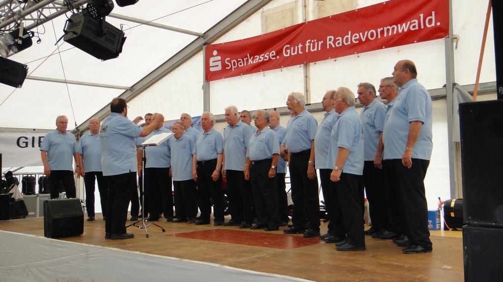 Großes Freundschaftssingen  ... mit der Chorgemeinschaft MGV Eingikeit Schwelm
