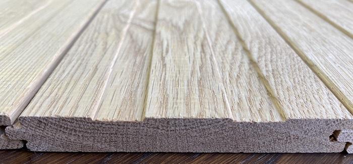 フローリング 無垢床材 ナラ材 オイル塗装 12ミリ厚 裏溝