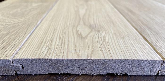 フローリング 無垢床材 ナラ材 オイル塗装 12ミリ厚 表